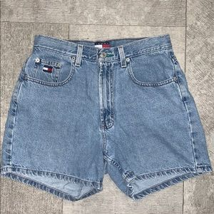 Vintage Tommy High Waisted shorts
